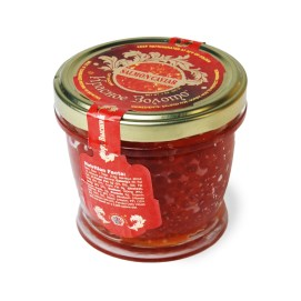 Krasnoe Zoloto Salmon (Red) Caviar 200 g (7 oz.) jar