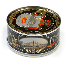 Kremlin Salmon (Red) Caviar 300 g (10.6 oz.) can