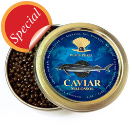 Premium Quality Sturgeon Caviar 100 g (3.5 oz.) tin
